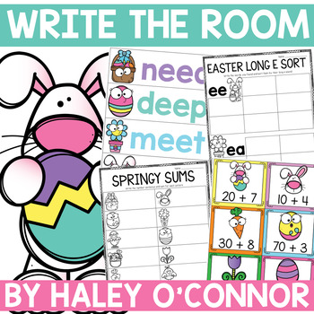 Easter Write the Room Stations