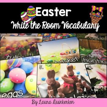 Easter Write the Room Vocabulary