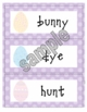 Easter Write the Room for K, 1st, and 2nd with recording sheet