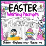 Easter Writing Prompts {Narrative Writing, Informative & Opinion Writing}