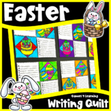 Easter Writing Prompts Quilt: Easter Writing Activity