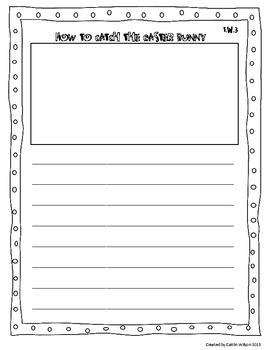 Easter Writing Activities for Common Core