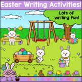 Easter Writing Activities for centers, small groups, whole