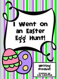 Easter Narrative Writing ~ I Went on an Easter Egg Hunt! {