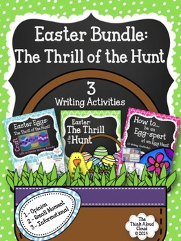 Easter Craft Bundle ~ with Writing Activities