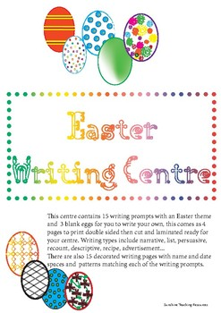 Easter Writing Centre