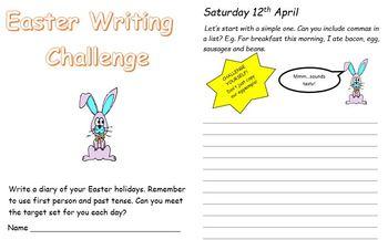 Holiday Writing Challenge