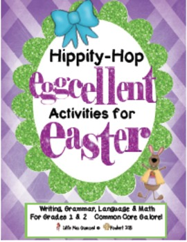 Easter Writing, Grammar, & Math  EGGcellent Activities For Easter!