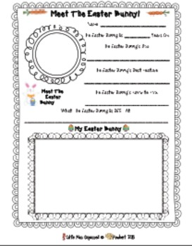 Easter Writing, Grammar, & Math  EGGcellent Activities For Easter!