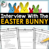 Easter Writing - Interview With The Easter Bunny