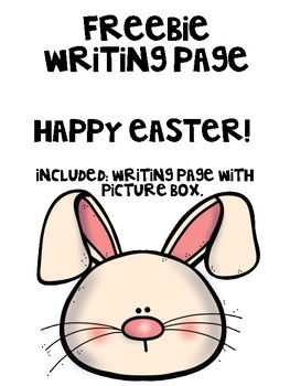 Easter Writing Page Freebie