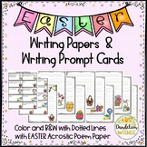 Easter Writing Paper, Acrostic Poem Paper, and Prompt Cards