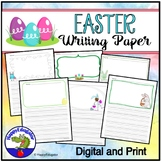 Easter Writing Paper - Lined Paper with Drawing Boxes - 21 Designs