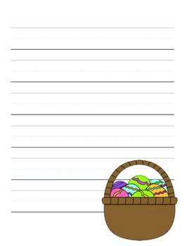 Easter Writing Paper Pack