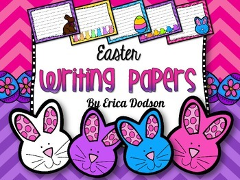 Easter Writing Papers