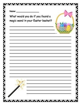Easter Writing Prompt