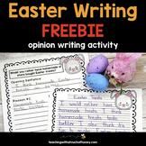 Easter Opinion Writing FREEBIE