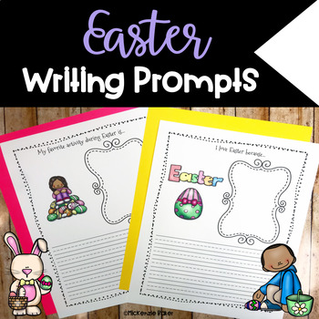 Easter Writing Prompts {12 Prompts}