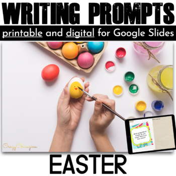 Easter Writing Prompts {42 cards}