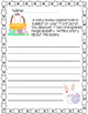 Easter Writing Prompts - two versions (color and black/white)