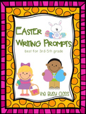 Easter Writing Prompts (3-5) - Distance Learning