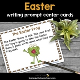 Easter Writing Prompts - Literacy Center Activity Cards