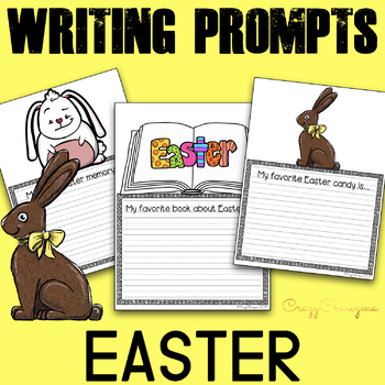 Easter Writing Prompts K-2