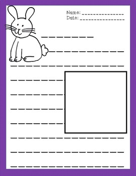 Easter Writing Prompts and Paper