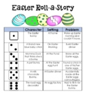 Easter Writing Station Roll-A-Story with Writing paper to