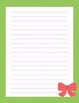 Easter Writing Stationary- Writing Paper