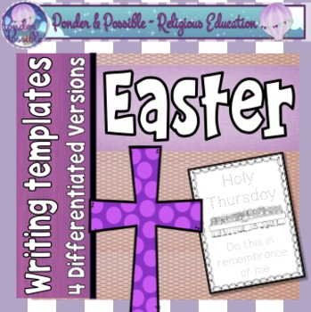 Easter Writing Templates ~ 4 events, 4 versions