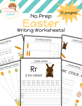 Easter Writing Worksheets