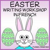 Easter Writing Centers in French  - Pâques en Français