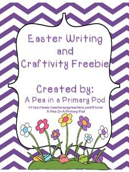 Easter Writing and Craftivity Freebie