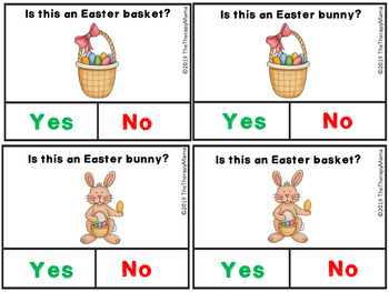 Easter Yes and No Cards