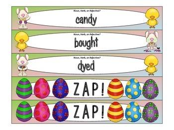 Easter ZAP! Noun, Verb, or Adjective