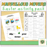 Easter activities printable and digital: ESL Cambridge Movers practice