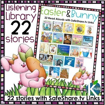 Easter and Bunny themed Read Aloud Library with SafeShare.tv Links