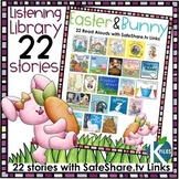 Easter and Bunny themed Read Aloud Library with SafeShare.