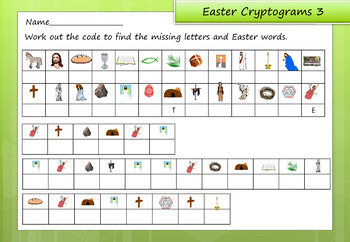 Easter and Holy Week Activity Pack