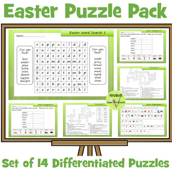 Easter and Holy Week Puzzle Pack