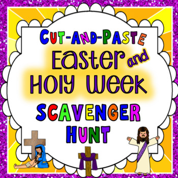 Easter and Holy Week Scavenger Hunt