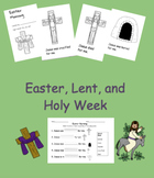 Easter (and Holy Week and Lent) for Little Learners