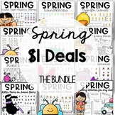 Phonics printable games and activities for Spring!