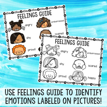 Easter and Spring Color by Feeling Printables - Emotions - School Counseling