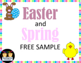 Easter and Spring Free Sample
