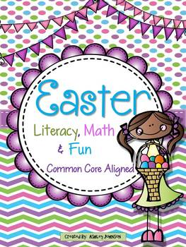Easter and Spring Literacy, Math, and FUN