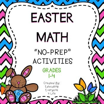 Easter and Spring Math Activities