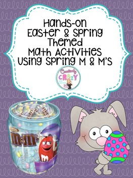 Easter and Spring Math Activities with Spring M &M's Candy