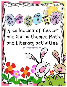 Easter and Spring Math, Literacy, and Other Activities